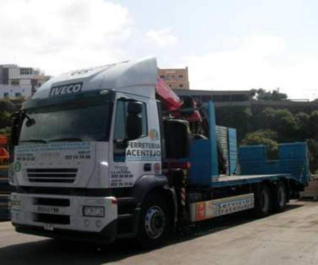 Los camiones grúa