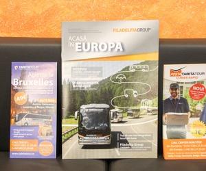 Transporte de pasajeros,  servicios programados en España, Italia y Francia