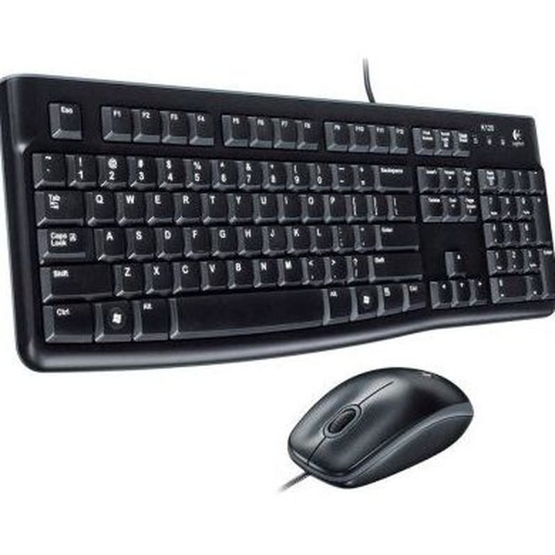 Logitech MK120 Teclado + Ratón óptico 1000dpi USB: Productos y Servicios de Stylepc