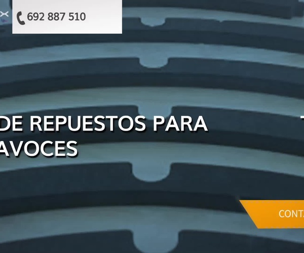 Repuestos de altavoces en Valencia | M-MAX Audio