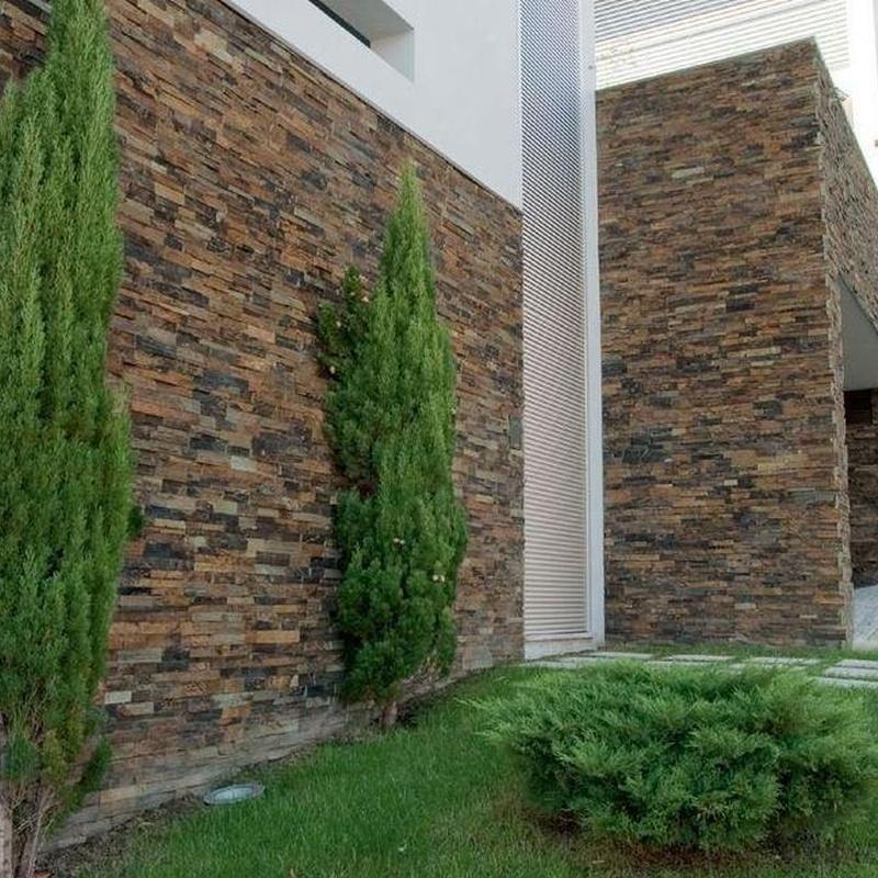 Piedra decorativa exterior