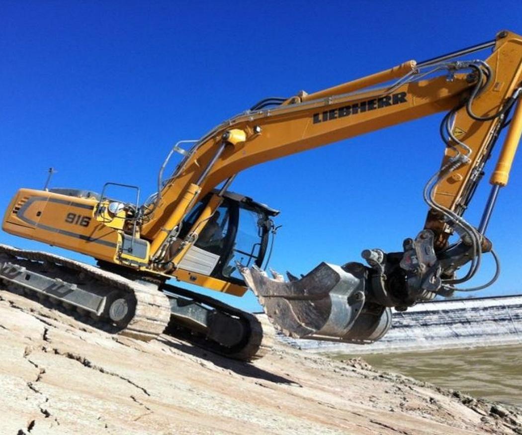 La maquinaria que utilizamos para las excavaciones de terrenos