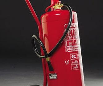 Armarios extintor: Servicios contra incendios de Sistemas contra incendios Madrid