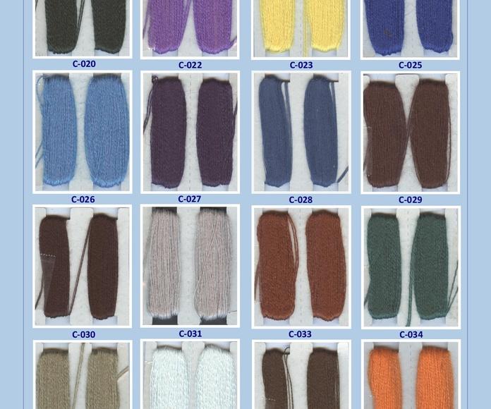 Lanas Zurcir: Catálogo de Punto & Costura