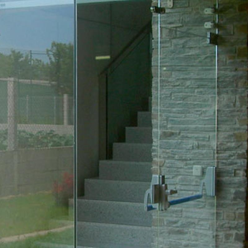 Puertas Securit: Servicios de Vidrios Coruña