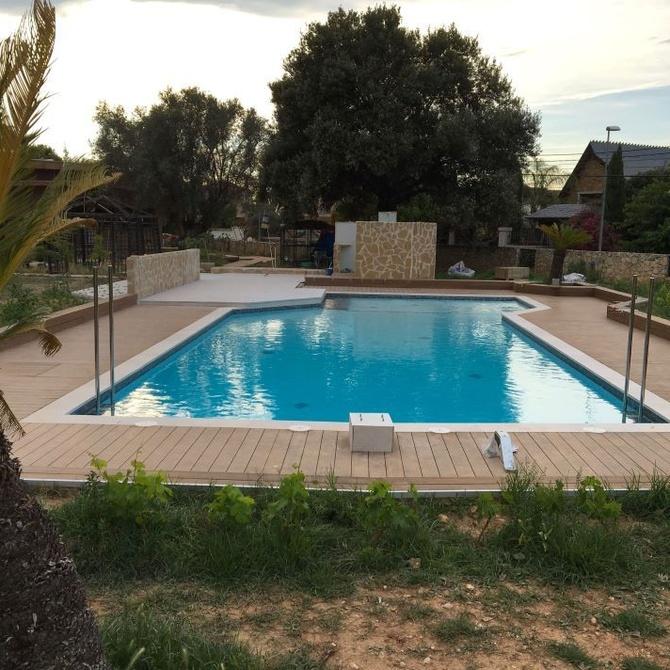¿Qué tipo de piscina puedo instalar en mi jardín?