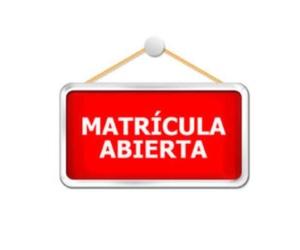 ABIERTO PLAZO RESERVA CURSO 2018/19