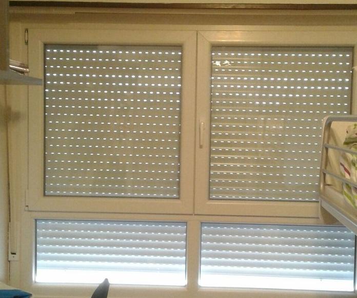 Puertas y ventanas de P.V.C: Productos de Aluminios Larratxo