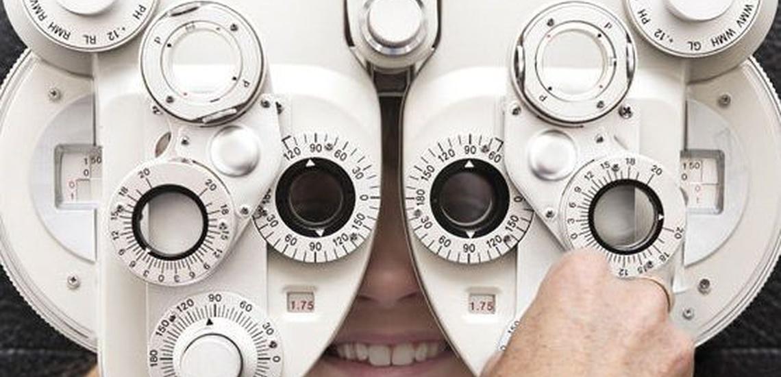 Consulta de optometría en Hortaleza