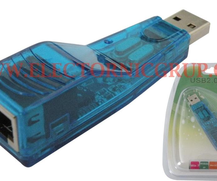 USB 2.0 a RJ45+ USB 2.0 + Targetas para Macbook