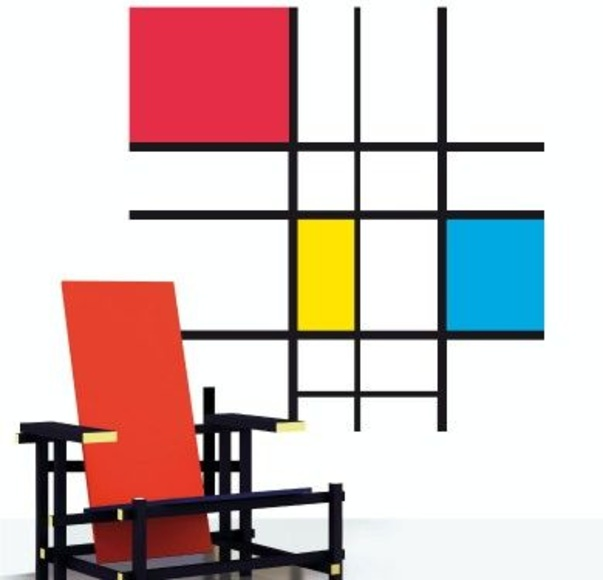 Wall sticker vinilo decorativo Primary Colors en Barcelona