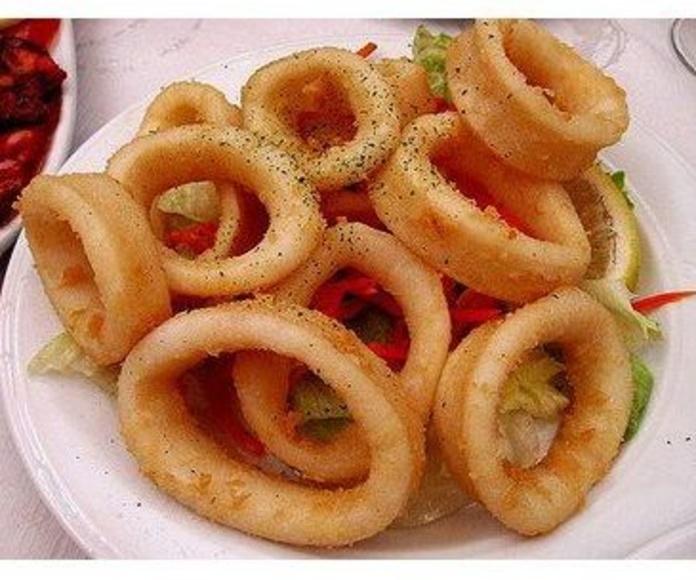 Pescaito frito: Menú de Palacio de las Patatas(MACARENA)