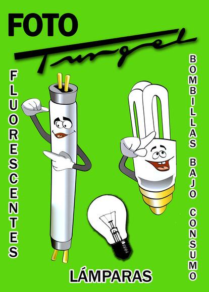 Venta de Bombillas y Fluorescentes de todo tipo.: Catálogo de Fotografía Turgel
