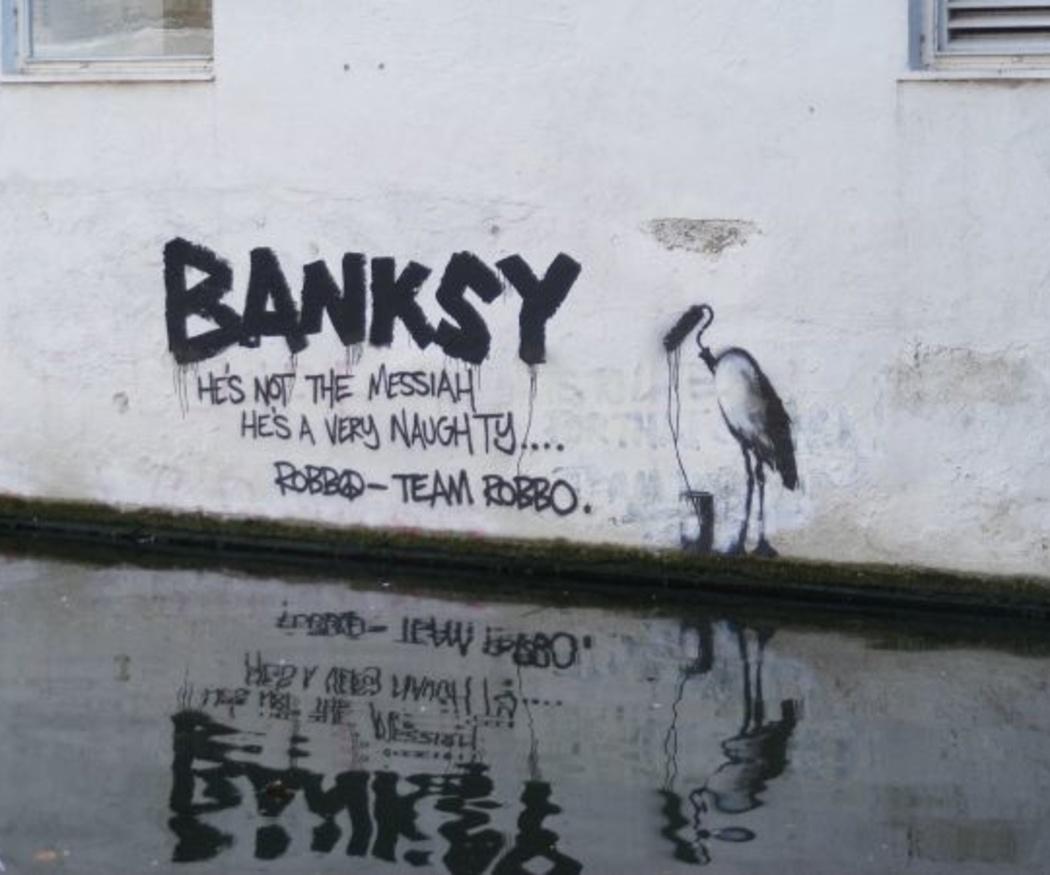 ¿Quién es Bansky?
