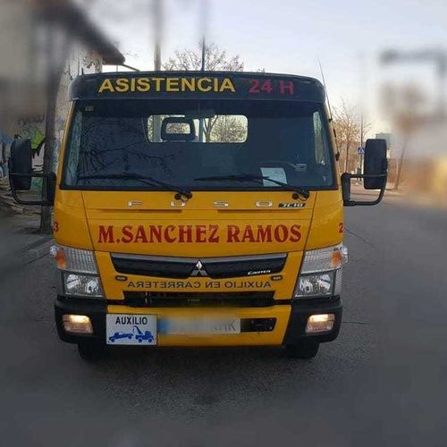 Servicios de grúas 24 h en Arganda del Rey | Grúas M. Sánchez Ramos