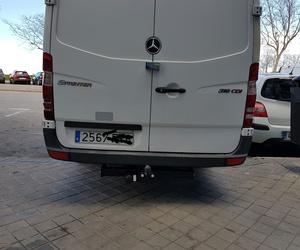 Enganche de remolque para furgonetas Mercedes. en Madrid centro