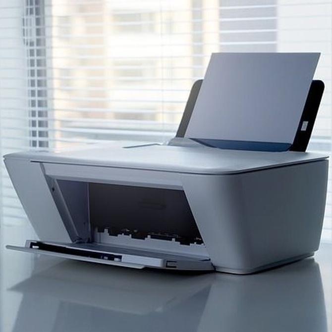 La historia de la impresora