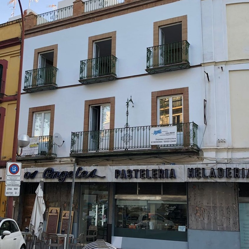 Rehabilitación del edificio completo en calle Adriano