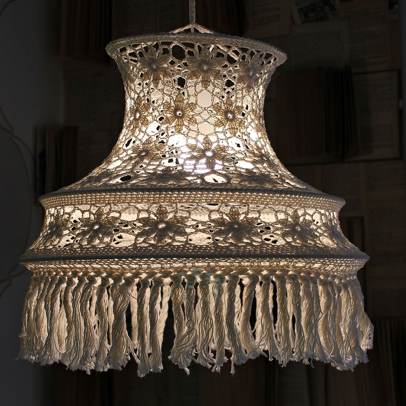 LAMPARA GANCHILLO EN VALENCIA