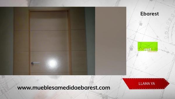 Puertas de madera en Madrid centro - Ebarest