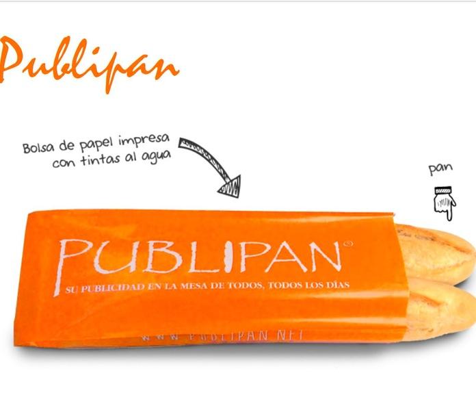 Publicidad en bolsas de pan Asturias
