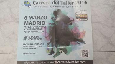CARRERA DEL TALLER 2016