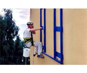 Pintura patios: Servicios de Vertigálvez