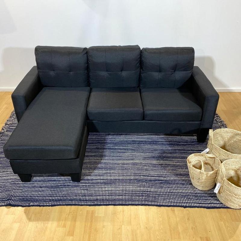 Sofá chaise longue negro: Productos de Remar Valencia
