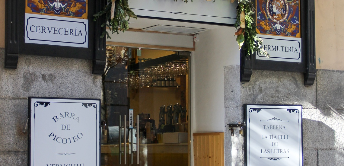 Bar cervecería en el Barrio de las Letras (Madrid) abierto hasta la una de la mañana
