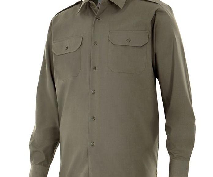 530 Camisa manga larga con galoneras: Catálogo de Mòn Laboral