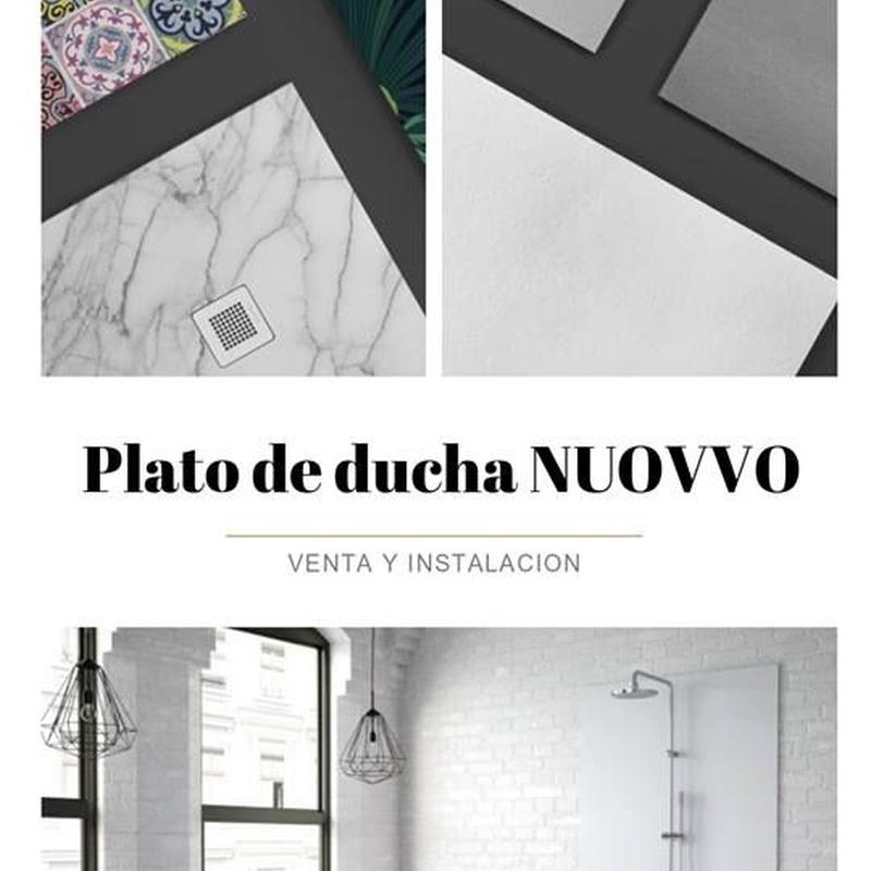 Venta e Instalación de platos de duchas.Plato de ducha benalmádena, Málaga.: COLECCIONES de Iducha