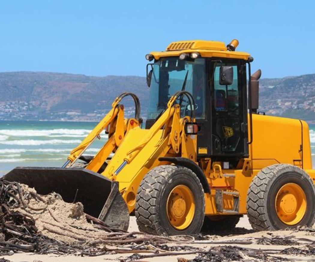 Diferentes modelos de excavadoras