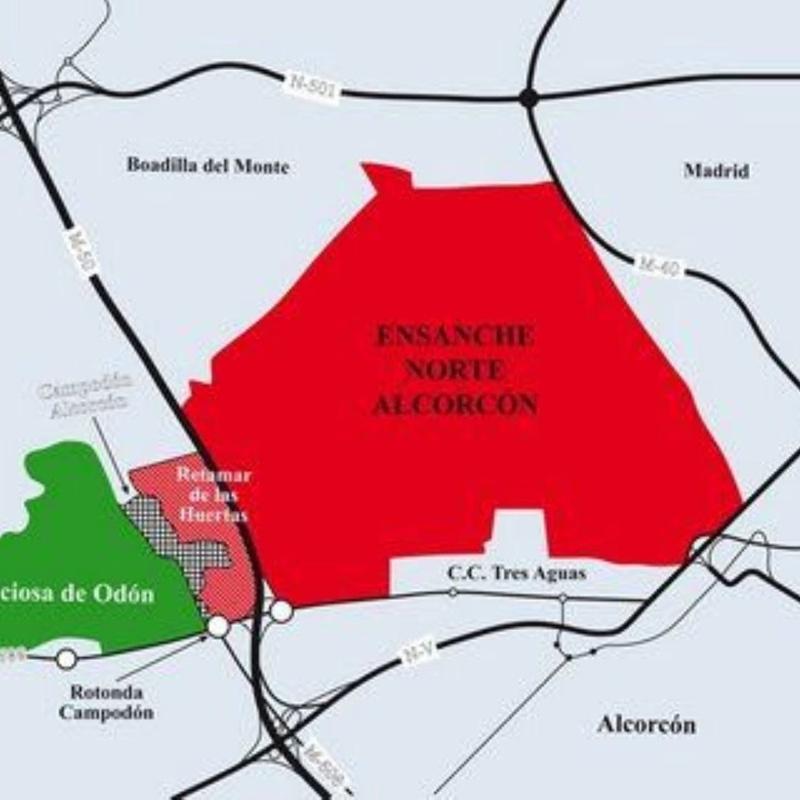 Terreno/Urbanizable en venta Avenida Móstoles, Campodón - Ventorro del Cano: Inmuebles de Copun Inmobiliaria