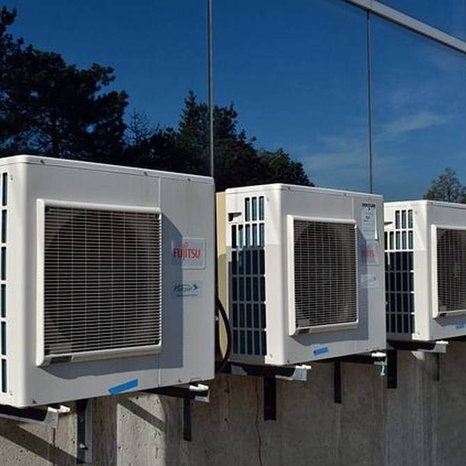 Ahorra usando el aire acondicionado