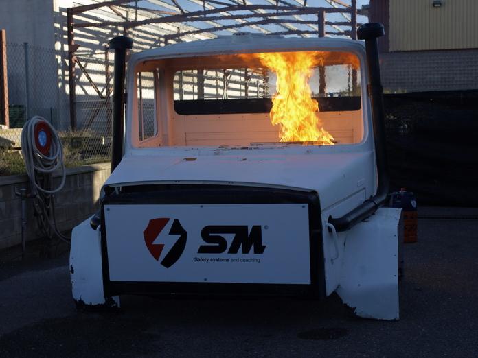 Prevención contra incendios: Productos y Servicios de Seguretat  S.M.