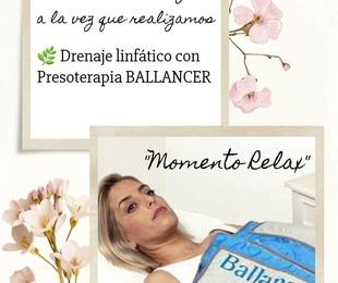 """""""MOMENTO RELAX"""" Bioterapia Facial A. + Presoterapia Ballancer"""