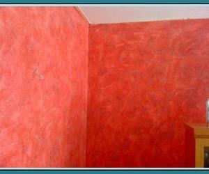 Aplicación de pinturas decorativas y otros elementos