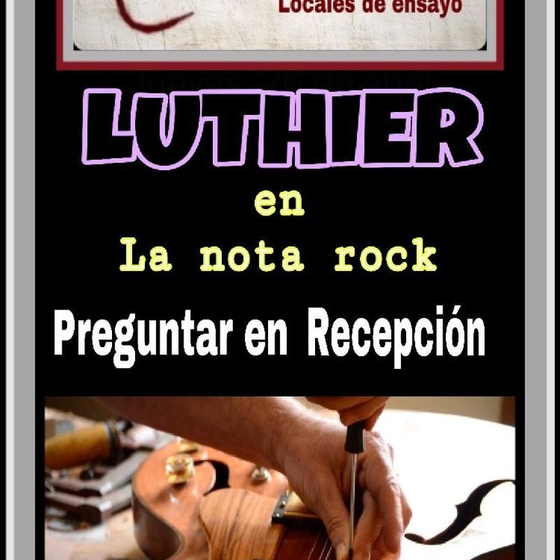Servicio Luthier: Servicios de Locales de Ensayo