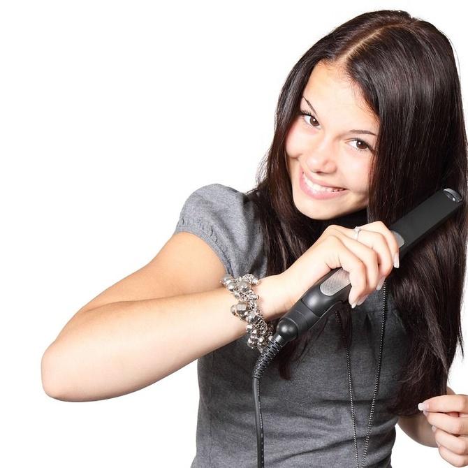 Utilidad de la plancha de pelo