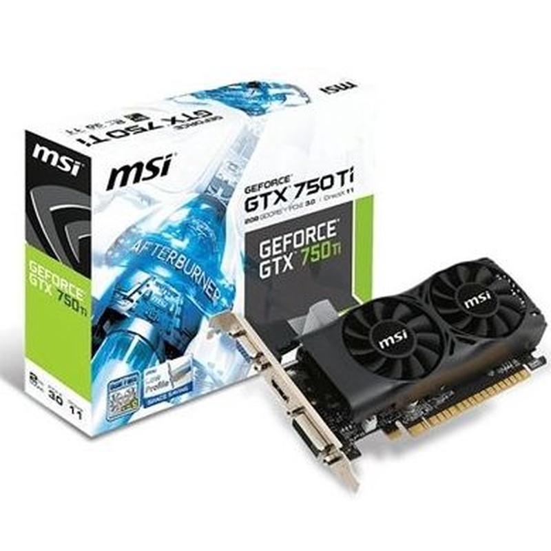 MSI VGA NVIDIA GTX N750Ti-2GD5TLP 2GB DDR5: Productos y Servicios de Stylepc