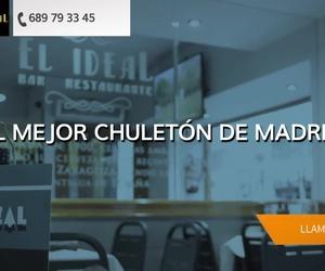 Comer chuletón en Madrid centro | Restaurante El Ideal