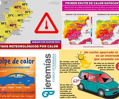Altas temperaturas - Aviso por calor: