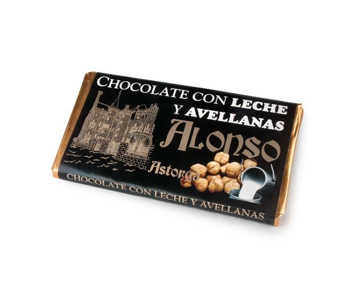 Chocolate Con Leche y Avellanas 150 grs.: Productos de El Racó del Bierzo