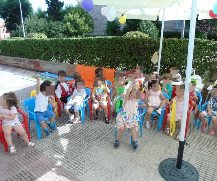 FIESTA DE FIN DE CURSO en la Escuela Infantil Centro Vida