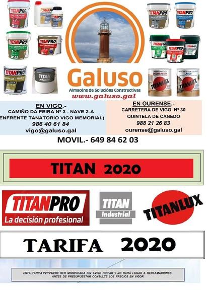 TITANPRO: Catálogo de Galuso