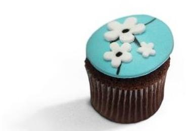 Cupcakes de chocolate y limón