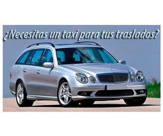 Taxi. Transportes para excursiones y eventos: Servicios de Taxi Xabi