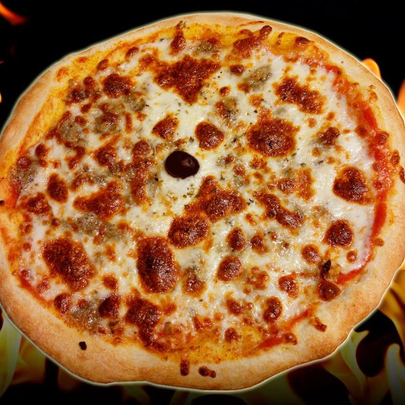 Pizza cabrales
