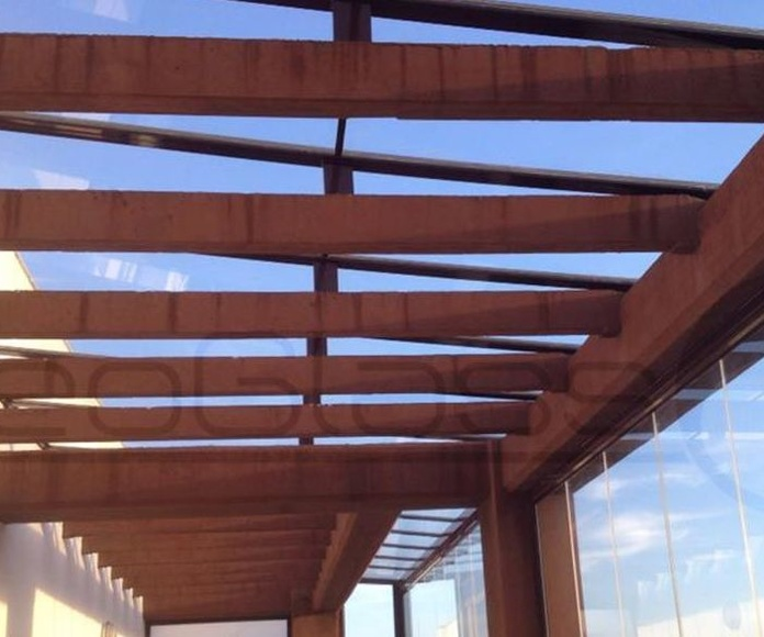 Fixed roof.: Works. de NeoGlass