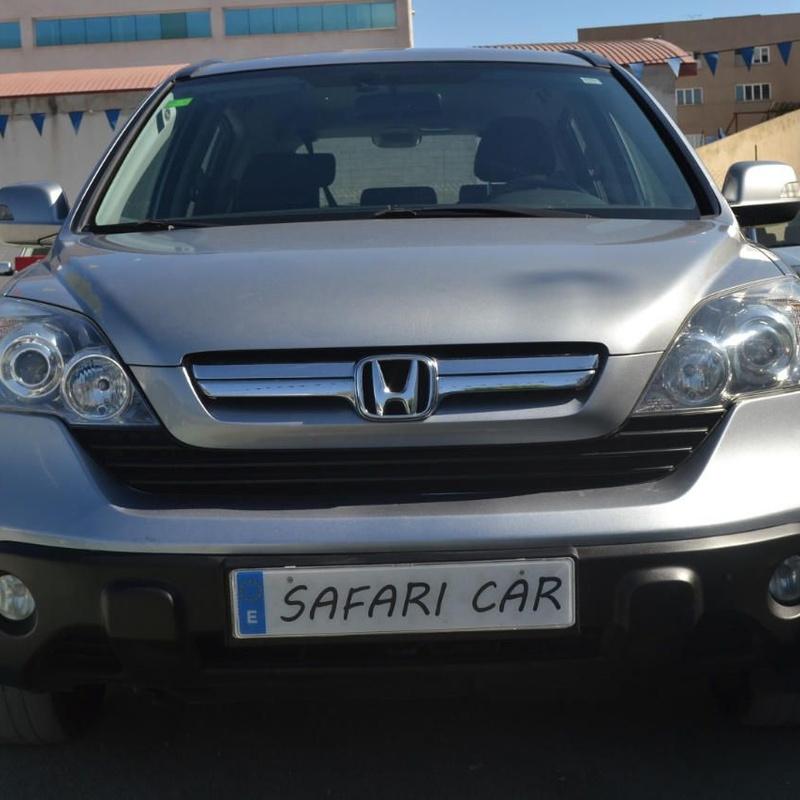 Honda CR-V 2.2i-CTDi Comfort: Nuestros coches de Safari Car